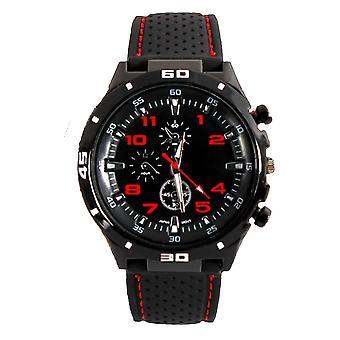 Men Analog Sports GT Watch Black/Red/White