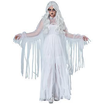 Fantomatique esprit fantôme âme hantent fantôme Halloween Dress Up Womens Costume