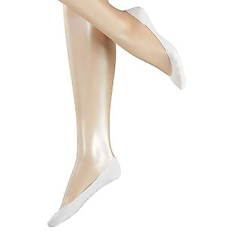 Esprit Basic Invisible 2 Pack Socks - White