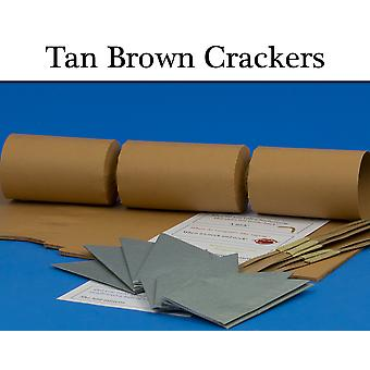 Tan Brown Make & Fill Your Own Cracker Making Craft Kits, Boards & Accessories