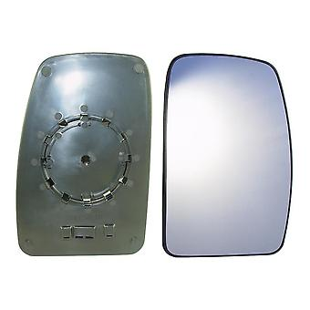 Right Mirror Glass (not heated) & Holder for Vauxhall MOVANO Van 2003-2010