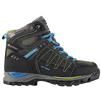 Karrimor Kids Hot Rock Mid Kids Walking Boots Boys Trekking Hiking Lace Up