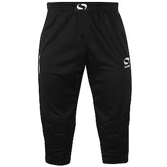 Sondico Mens Goalkeeper Three Quarter Trousers Pants Elasticated Waistband