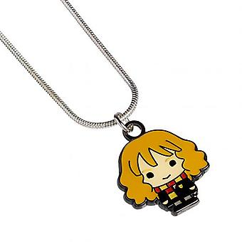 Harry Potter Silver Plated Necklace Chibi Hermione