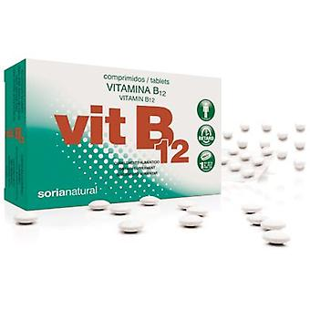 Soria Natural Vitamin B12 Retard 64 Tablets (Vitamine und Mineralstoffe , Vitamine)
