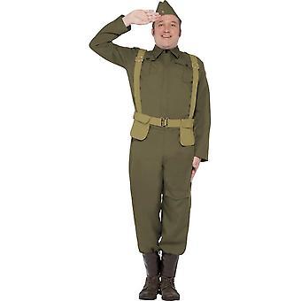 WW2 Home Guard Private Costume, XL