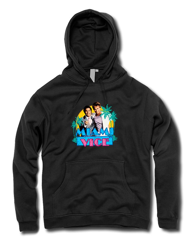 Kids Hoodie - Miami Vice - Crockett And Tubbs
