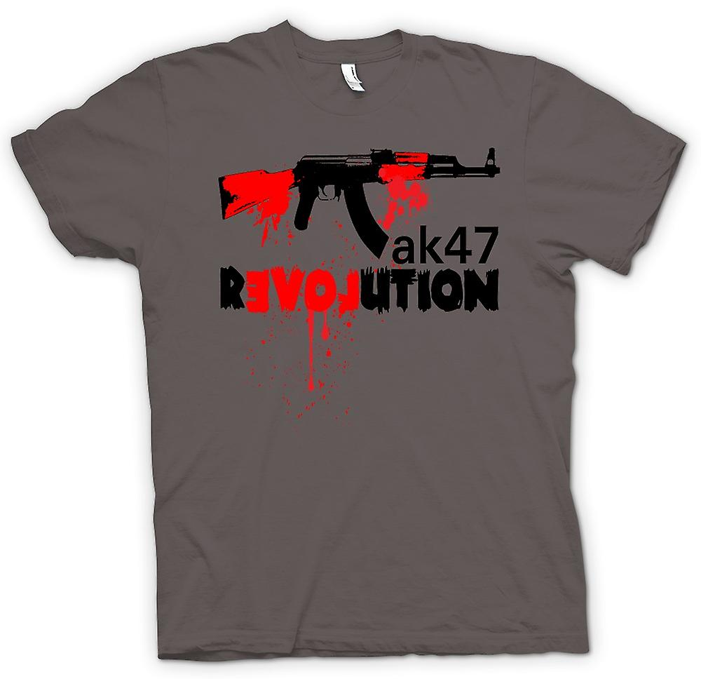 Womens T-shirt-AK47-Revolution