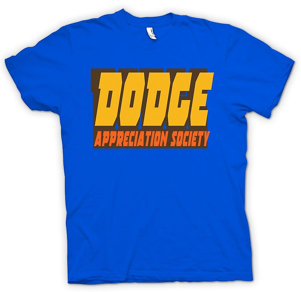 Mens T-shirt - Dodge Appreciation Society