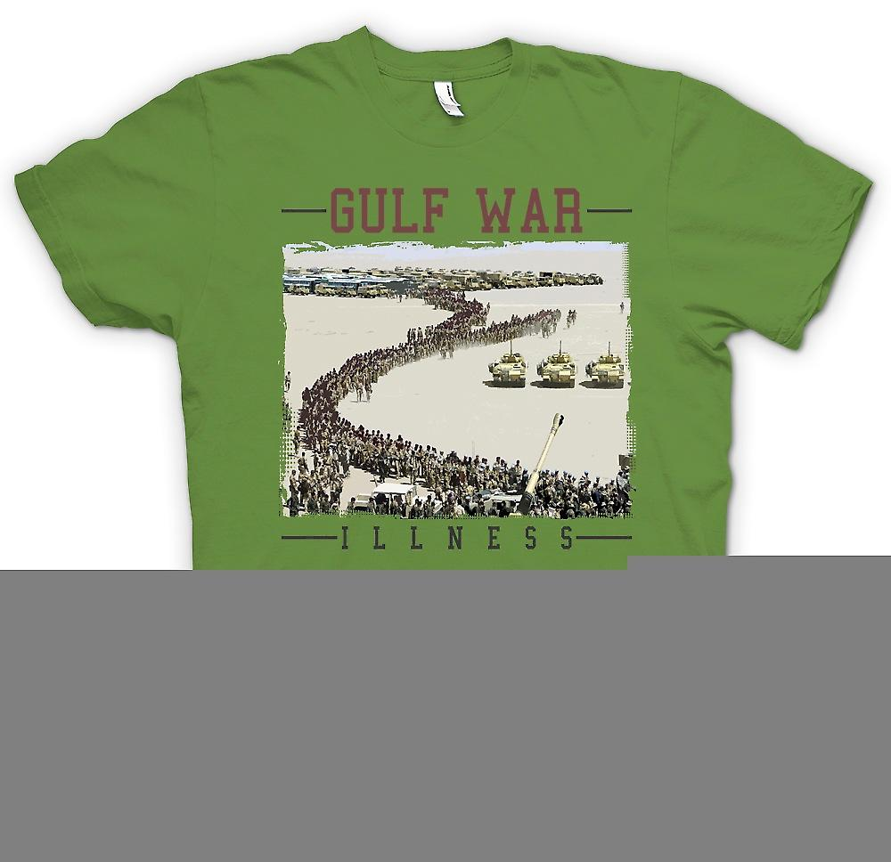 Mens T-shirt - Gulf War Illness Conspiracy