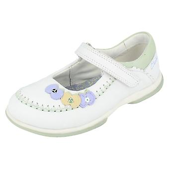 Girls Clarks Shoes Appleshine Pre White Size 9.5 F UK