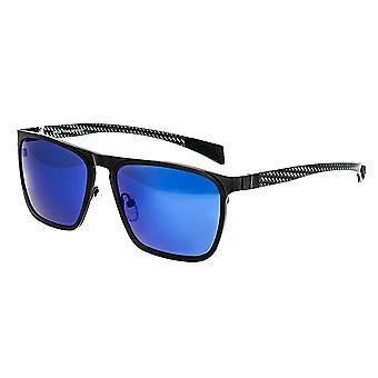 RAS Steenbok Titanium gepolariseerde zonnebrillen - zwart/blauw
