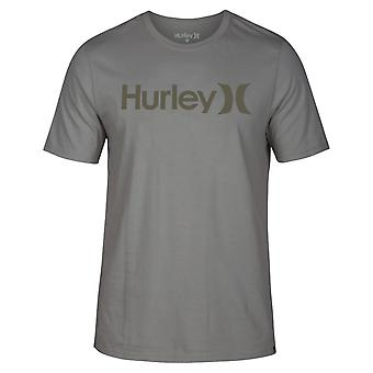 Hurley Men's T-Shirt ~ One & Only Solid khaki