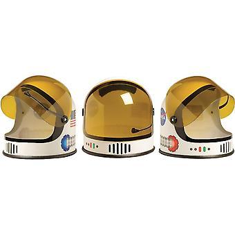 خوذة رائد الفضاء الذين تتراوح أعمارهم بين 3 إلى 10