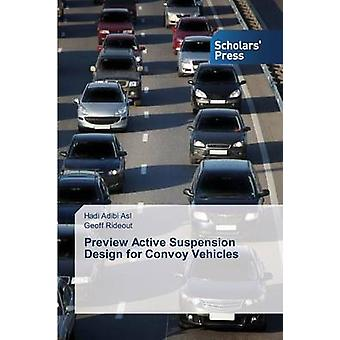 Design di sospensioni attive di anteprima per i veicoli del convoglio di Adibi Asl Hadi