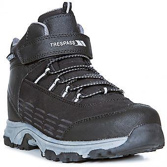 Trespass Boys Harrelson Lightweight Breathable Walking Boots