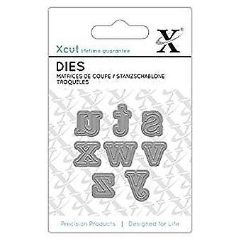 Xcut Mini Dies (8pcs) - Serif Alpha 3 (XCU 503647)