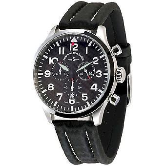 Zeno-watch mens watch Navigator NG chronograph quartz, carbon 6569-5030Q-s1