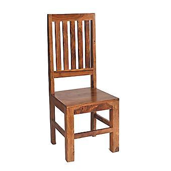 Oslo Sheesham High Slatback Chair  - A Pair