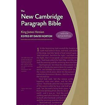 New Cambridge Paragraph Bible with Apocrypha KJ590 -TA - Personal Size