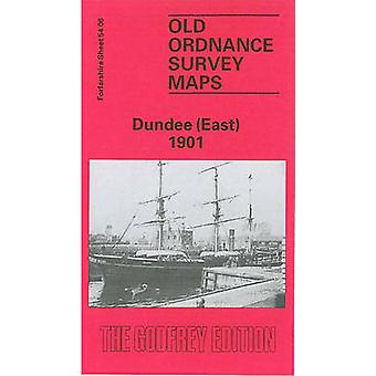 Dundee (East) 1901 - Forfarshire Sheet 54.06 (Facsimile of 1901 ed) by