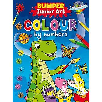 Bumper Junior Art Colour by Numbers by Angela Hewitt - 9781841359984