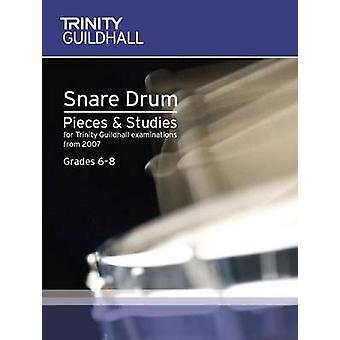 Percussion Exam Pieces & Studies Snare Drum Book 2 - Grades 6-8 by Tri