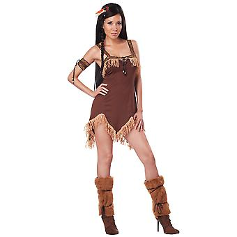 Indian Princess Native American Pocahontas Western Women Costume
