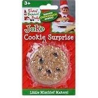 Elves Behavin Badly - Cookie Suprise - Large Naughty Elf Joke