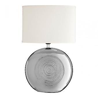 Premier Home Holly tafel lamp, zilver