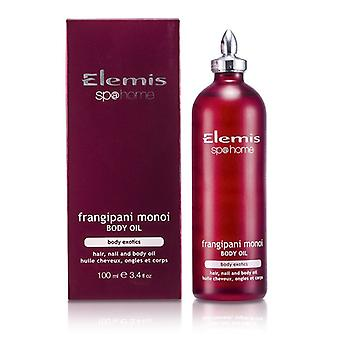 Elemis eksotiske Frangipani Monoi Body Oil 100ml / 3,4 oz