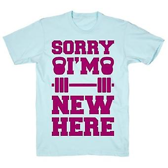 Sorry i'm new here t-shirt