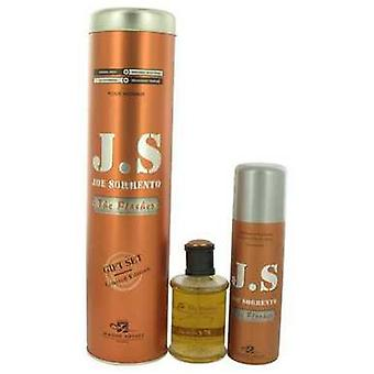 Joe Sorrento The Flasher By Joe Sorrento Gift Set -- 3.3 Oz Eau De Parfum Spray + 6.7 Oz Body Spray V728-538776
