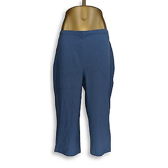 Women with Control Women's Plus Pants Tushy Lifter Blue A354358