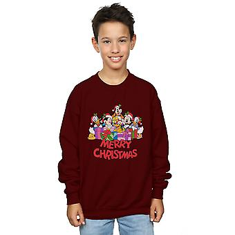 Disney Boys Mickey Mouse And Friends Christmas Sweatshirt