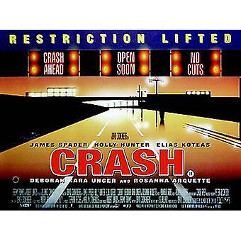 Crash Original Cinema Poster