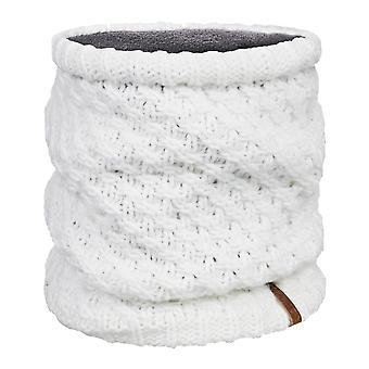 Roxy Blizzard Collar Neck Warmer in Egret
