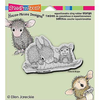 Stampendous House Mouse Cling stempel wortel vriend Hmcv05