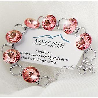 Bracelet cristaux rose BMB 2.1