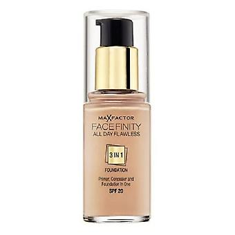 Max Factor Finity Face Makeup 3in1 (Woman , Makeup , Face , Foundation)