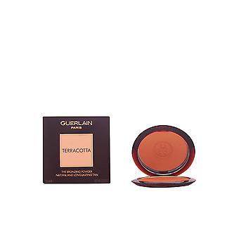 Guerlain Terracotta Bronzing poudre #00-clair Blondes 10 Gr pour les femmes