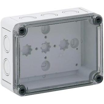 Build-in casing 94 x 130 x 57 Polycarbonate (PC) Light grey Spelsberg TK PC 1309-6-TM 1 pc(s)