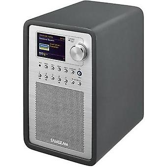 Internet Table top radio Sangean AUX, DAB+, Internet radio, FM, USB Spotify, DLNA-compatible Grey