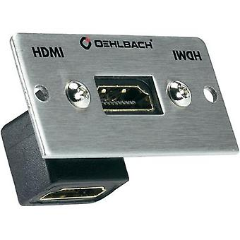 HDMI Multimedia inset + gender changer Oehlbach PRO IN MMT-G90 H