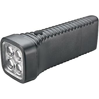 LED Torch AccuLux MultiLED black rechargeable 152 g Black