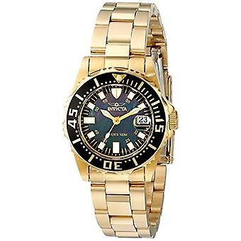 Invicta Women's 2962 Pro Diver Analog Display Swiss Quartz Gold Watch