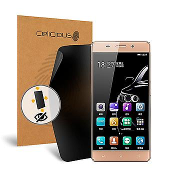 Celicious Privacy Plus Gionee Marathon M5 Lite 4-Way Visual Black Out Screen Protector
