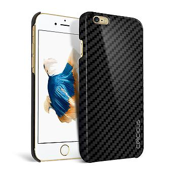 Celicious Matrix Apple iPhone 6s Plus echte Carbon Fibre Back Cover Case
