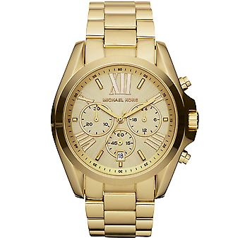 Michael Kors MK5605 Bradshaw Rose Gold Plated Chronograph Wrist Watch