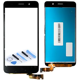 Display LCD complete unit for Huawei Y6 black